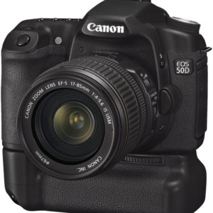 location canon-50d-grip-alimentation