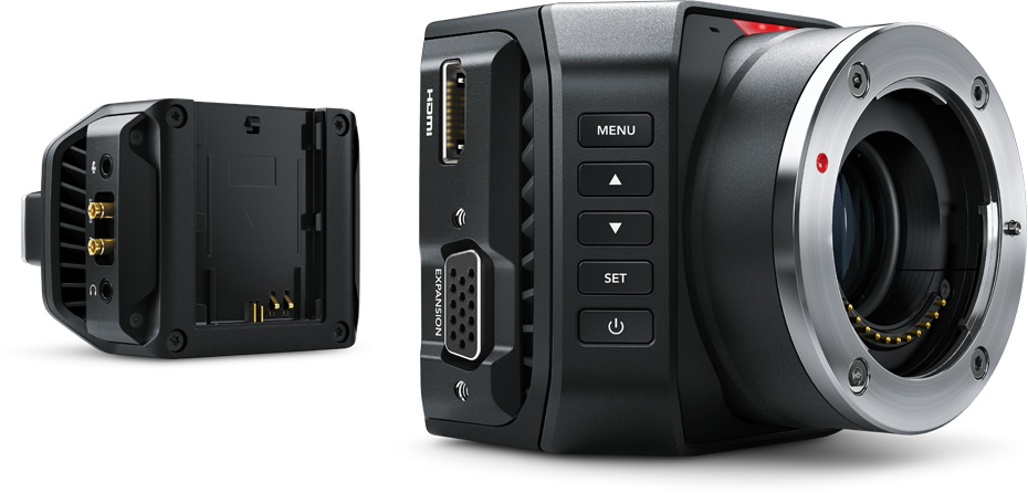 blackmagic micro camera 4K